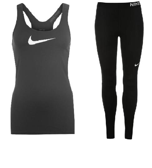 Afholte Nike Pro sæt m lang buks HG Voksen | Sportigan Høng OE-08